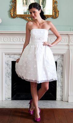 LulaKate Little White Dress