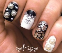 Nail Art How To: Chanel Designer Nails - NailItMag