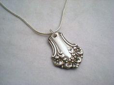 Silverware pendant