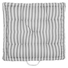 Buy John Lewis Ticking Stripe Boxed Seat Pad £15, H6 x W40 x L40cm - 3 for the bench?