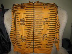 Adidas Originals ObyO Jeremy Scott Tape Measure TT Jacket Track Top Men Notes | eBay