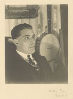Juan Gris; Man Ray (American, 1890 - 1976); France; 1922; Gelatin silver print; 12.1 x 9.5 cm (4 3/4 x 3 3/4 in.); 86.XM.626.11; J. Paul Getty Museum, Los Angeles, California
