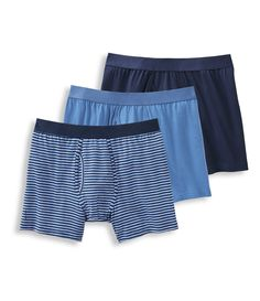 Western Denim Orange Cat Boxer Briefs Mens Underwear Pack Seamless Comfort Soft