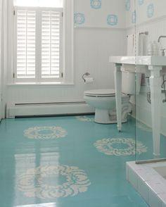 painted flooring