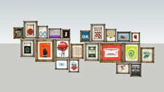 22 Framed Pictures - 3D Warehouse