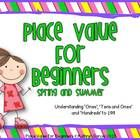 Place Value for Beginners starts at the very earliest understanding of the term ones as it relates to place value.  This packet is designed to he...