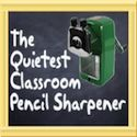 Polka Dot Palace: Back-to-School GIVEAWAY of the Quietest Classroom Sharpener
