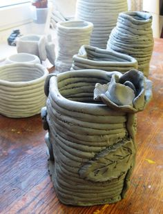 coil pot - get some clay from the art shop and get creating this Easter!
