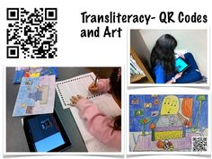 Transformative iPad Use in Elementary School Put QR code on to give more info. Cool