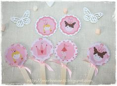 Toppers 2Kit imprimible Princesas Merbo Events by Merbo Events, via Flickr