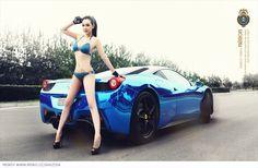 Shi Zi Jia – Nemon Bikini And Car