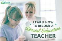 Rise to the challenge. Special education calls for special teachers. Teaching Special Education, We Are The Ones, Educational Leadership, Schools, How To Become, Career, Challenges, Classroom, Learning