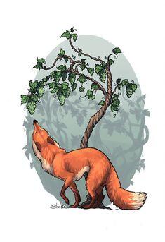 34 fantastiche immagini su volpi fox foxes e cartoon art