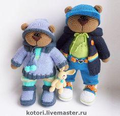 Игрушки животные, ручной работы. Ярмарка Мастеров - ручная работа Мишки маленькие. Handmade.
