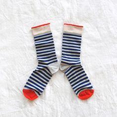 Royal Blue Stripes - Bonne Maison