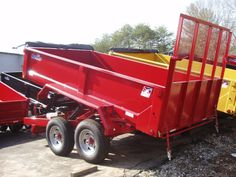 6 x 12 dump trailer with utility gate and tarp kit