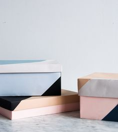 diy | paper boxes