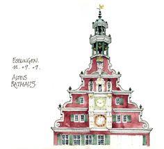 das Altes Rathaus Esslingen