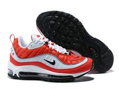 new product 237e6 e1010 Kjøp Nike Air Max 95 - Billig Nike Air Max 95 Herre Løpesko Rod Hvit  538416-614 På Nett   New Nike Shoes   Pinterest   Air max 95 and Air max