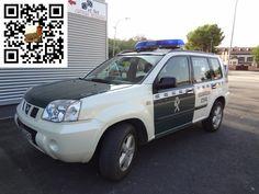 Furgoneta Todo Terreno Policia Guardia Civil Española - Spain Truck Police of Guardia Civil Spanish