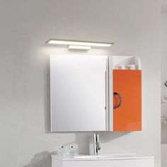 Interior Deluxe Stick LED Wall Lamp | Interior-Deluxe.com Mirror With Lights, Wall Lights, Ceiling Lights, Circular Ceiling Light, Led Wall Lamp, Dim Lighting, Led Technology, Dressing Table, Toilet