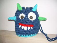 Turnbeutel - Kindertasche Turnbeutel Schlafanzugtasche - ein Designerstück von Maxi26 bei DaWanda