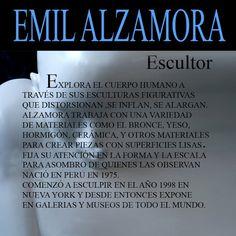 Atrapados por la imagen: EMIL ALZAMORA - ESCULTOR PERUANO