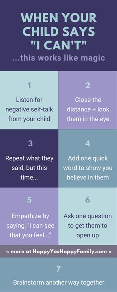"The most common response to negative self-talk in children doesn't work. When your kid says, ""I can't do it,"" use this powerful word to inspire her. Gentle Parenting, Parenting Advice, Kids And Parenting, Practical Parenting, Mindful Parenting, Positive Self Talk, Negative Self Talk, Fixed Mindset, Growth Mindset"