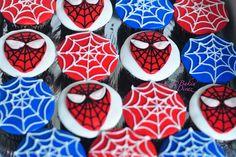 @KatieSheaDesign ♡♡ #CupCakes ♡♡    #Spiderman cupcakes
