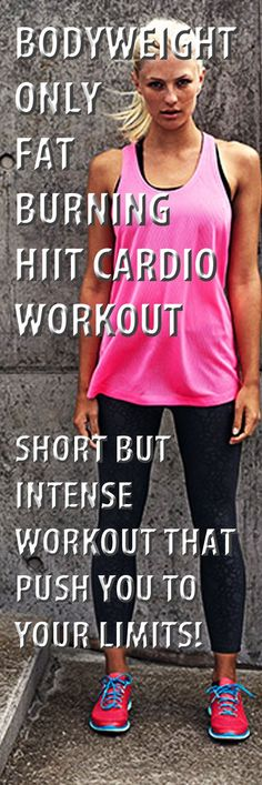 Bodyweight Only Fat Burning Hiit Cardio Workout. #bodyweightworkout #cardio #hiitcardio #fatburning #burnfat #weightloss #loseweight