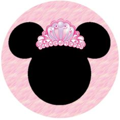 Minnie Y Mickey Mouse, Minnie Mouse 1st Birthday, Disney Frames, Hello Kitty Wallpaper, Bottle Cap Images, Easy Christmas Crafts, Disney Ears, Bow, Decoration