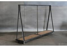 Interior Decline: more industrial clothing racks Iron Furniture, Furniture Design, Wood Clothing Rack, Industrial Living, Industrial Furniture, Garment Racks, Store Fixtures, Sweet Home, Shops