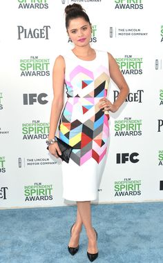 Melonie Diaz from 2014 Film Independent Spirit Awards: Red Carpet Arrivals | E! Online
