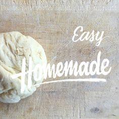 Pasta per torte salate in 5 minuti: ricetta e procedimento
