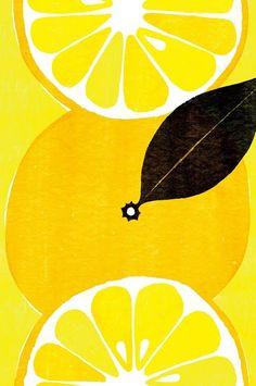 Kazuaki Yamauchi #lemons illustration