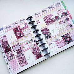 Planner Layout, Goals Planner, Planner Ideas, Digital Bullet Journal, Planner Dashboard, Mini Happy Planner, Planner Decorating, Planner Organization, Erin Condren