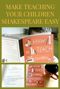 As classical homeschoolers we should teach our children Shakespeare. I don't know about you, but teaching Shakespeare is intimidating.