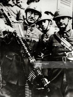 """W Britain 1917-18 U.S Mortier Crew avec français CRAPOUILLOT ou Petit crapaud/"""" 5 pc"""