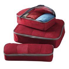 Set of 3 TravelSmith Smart Packs