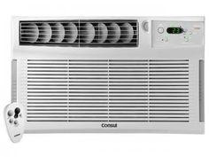 Ar-Condicionado de Janela Consul 12000 BTUs Frio - Filtro Consul CCY12D com Controle Remoto