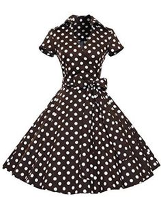 Dresstells, Version4.0 Vintage 1950's Audrey Hepburn robe de soirée cocktail année 50 col en V manches courtes