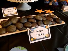 Frost Your Cake: Moon Rock Cookies