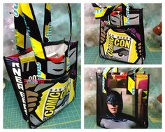 comic book upcycled bag | Recent Photos The Commons Galleries World Map App Garden Camera Finder ...