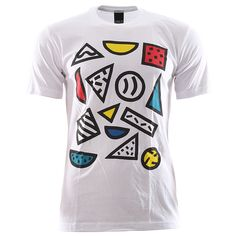 Only Ny Shapes T-Shirt - White