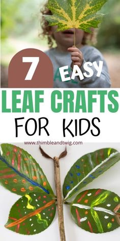 Easy Leaf Crafts for Kids