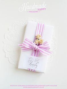 Ghirlanda di Popcorn: Pretty Summer Packages | Handmade Happy Magazine