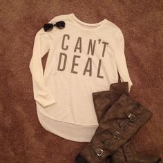 BEST IN TOPS HP Adorable NWT CAN'T DEAL!! Tops
