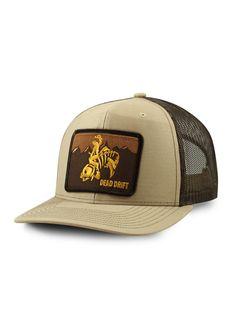 273506776b Dead Drift Fly Wild West Wyoming Truck Fly Fishing Hats