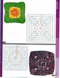 Delicadezas en crochet Gabriela: Puntos a granel para coleccionar con patrones