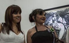 La artista Zaida del Río durante la inauguración de la exposición. Foto: Fernando Medina / Cubahora.